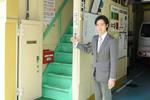 大阪市西区 車検 板金/双輪自動車入口