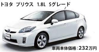 大阪市西区 車検 板金/特選車 トヨタ プリウス